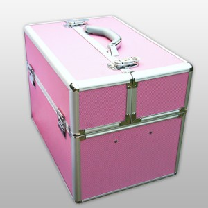 Geanta pentru manichiuriste, roz