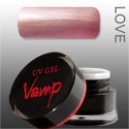 Gel colorat VAMP  No. 201 Secret, Love Collection 5 gr.
