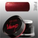 Gel colorat  VAMP  No. 408 Sabotage, Fire Collection 5 gr.