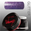 Gel colorat   VAMP  No. 808 Insomnia, Glitter Collection 5 gr.