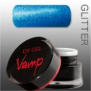 Gel colorat    VAMP  No. 810 Deep, Glitter Collection 5 gr.