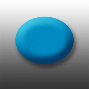 Pudră de portelan colorat și sclipitor 204 Neon Blue NEON Collection 5 gr.