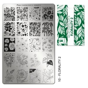 Matriță pentru stampilă 10 Florality 2