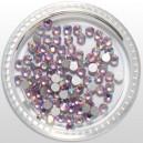 Pietre de strasuri din cristal 34 Light Rose AB