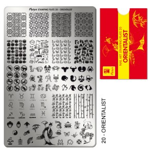 Matrita pentru stampila 20 Orientalist