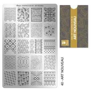 Matriță pentru ștampilă 40 Art Nouveau