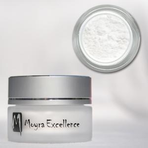 Pudra pe porţelan Moyra Excellence alb 12 gr.