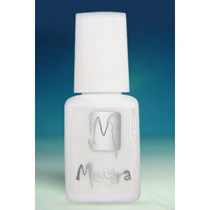 Adeziv pentru unghii false Moyra, cu pensula