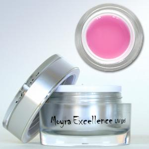 Gel pentru construire Moyra Excellence roz diamant 30 gr.